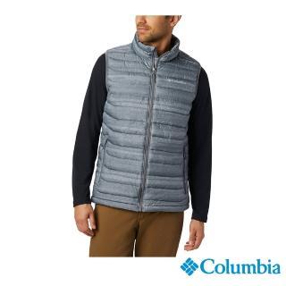【Columbia 哥倫比亞】男款-Omni-HEAT保暖背心-灰色(UWE08470GY / 發熱.運動.機能)