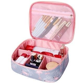 【火烈鳥】韓版旅遊化妝包 化粧包 盥洗包 收納包 旅行收納 整理包(出遊必備 旅行收納整理包)