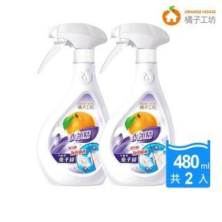 【橘子工坊】領袖衣領精(兩用噴頭480ml X2瓶)