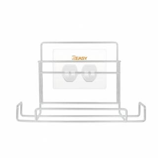 【2easy】台製無痕掛鉤鐵架收納系列(衛生紙架)