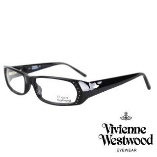 【Vivienne Westwood】經典土星款光學眼鏡(黑 VW143_04)