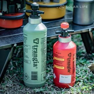 【Trangia】瑞典 Fuel Bottle 燃料瓶 橄欖綠 1L(汽油瓶燃油罐汽化爐燃料壺去漬油瓶煤油酒精瓶)