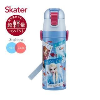 【Skater】不鏽鋼直飲保溫水壺470ml(冰雪奇緣Movie)