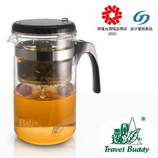 【台灣精品】泡茶飄逸杯1000ml(玻璃外杯)/