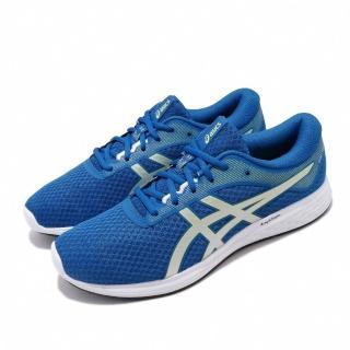 【asics 亞瑟士】慢跑鞋 Patriot 11 運動休閒 男鞋 亞瑟士 基本入門款 路跑 輕量 透氣 藍 銀(1011A568403)