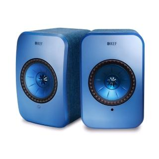【KEF】英國 KEF LSX Hi-Fi 無線 WIFI 藍芽喇叭 藍色 內建擴大機(★還原音樂空間感 層次感 臨場感★)
