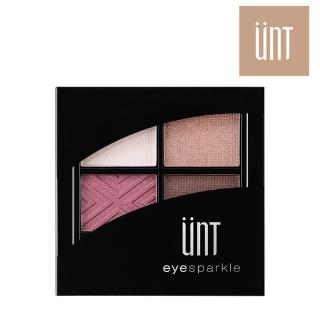 【UNT】綻光絕色眼影盤 6.8g 暮色玫瑰 紅棕色