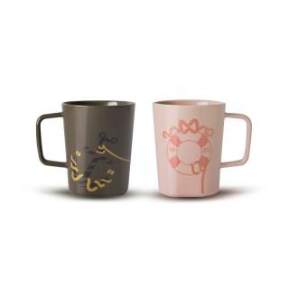 【TOAST】DRIPDROP 陶瓷馬克杯- 米奇對杯組 250ml