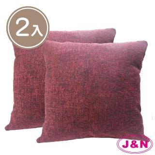 【J&N】織紋麗緻抱枕60*60(---2入)