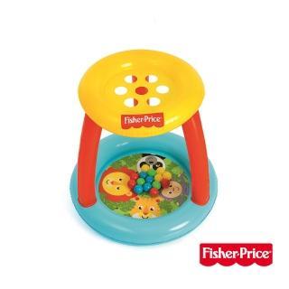 【Fisher price 費雪】費雪森林好朋友球池-送15顆球(93541)