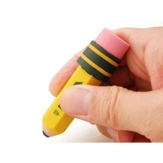 【德國LYRA】黃桿鉛筆造型擦-3入