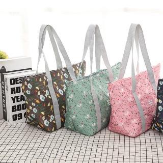 【WEEKEIGHT】時尚高質感防潑水可摺疊保溫袋/保冰袋/便當袋/午餐袋/野餐包