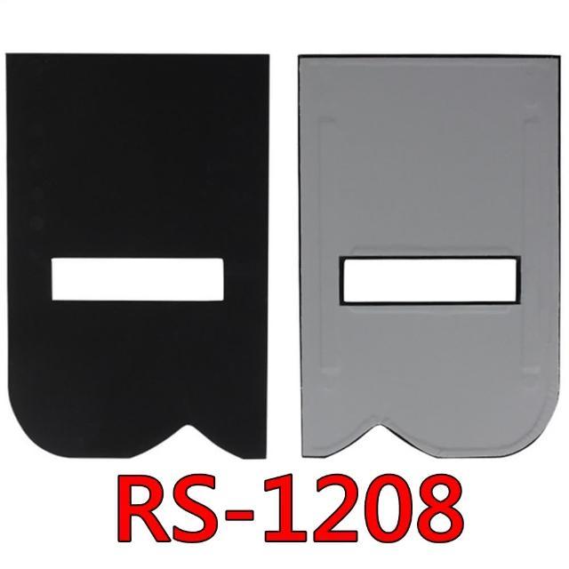 【RECSUR】花式縫卡黑卡灰卡RS-1208(黑絨縫型