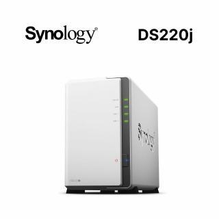 【Synology 群暉科技】DS220j 2Bay 網路儲存伺服器