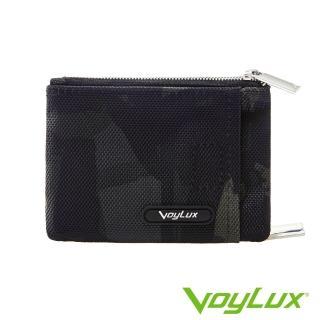 【VoyLux 伯勒仕】Camo迷彩系列雙口袋零錢包-1095775(迷彩粗丹尼龍布)
