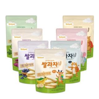 【ibobomi】嬰兒米餅30g(原味/蘋果/菠菜/紫薯)