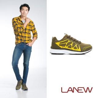【La new】優纖淨系列  安底慢跑鞋(男60256141)