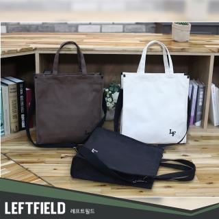 【LEFTFIELD】韓國燈絨布手提側背包 NO.LF1216(帆布手提包 男側背包 女側背包)