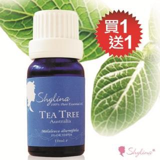 【Shylina 萱琳娜】EC 特惠 100%茶樹純精油特惠買一送一10ML*2瓶(居家保健第一名)
