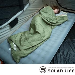 【Outthere 好野】易洗抗蹣好窩睡袋-100%Thermolite科技七孔棉(四季信封睡袋輕量露營登山保暖睡袋可拼接)