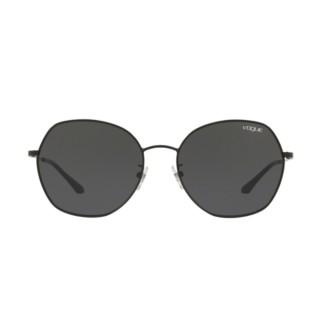 【VOGUE】太陽眼鏡經典都會造型款金屬框暗色鏡片(4115SD-35287)