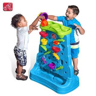 【STEP2】戲水探索牆(幼童專屬的瀑布迷宮)