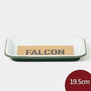 【Falcon】獵鷹琺瑯 小托盤 茴香綠 19.5cm