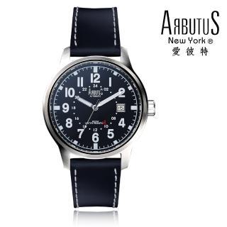 【ARBUTUS 愛彼特】普普風大數字夜光腕錶 AR0074