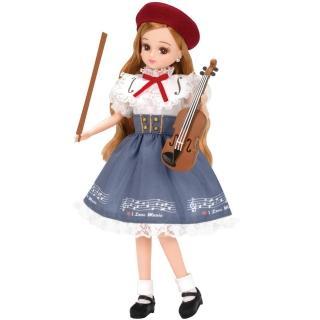 【TAKARA TOMY】莉卡娃娃配件 LW-19 小提琴課程(女孩 洋娃娃)