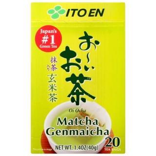 【伊藤園】好喝玄米茶包-抹茶入(2g x20入)