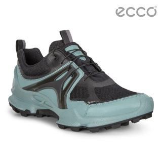 【ecco】BIOM C-TRAIL W 縱橫越野健步防水運動鞋(青藍色 80311351834)