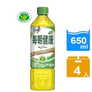 【每朝健康】健康綠茶650ml(4入)