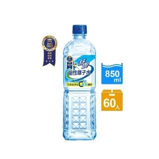 【舒跑】鹼性離子水850ml 20入x3箱(共60入)