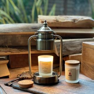 【Vana Candles】蠟燭暖燈 - 復古黃銅小暖燈 可調光(薰香燈 香氛燈 蠟燭燈)