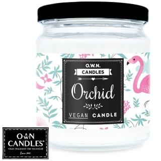 【O.W.N. 對環境友善的蠟燭】小糖果罐精油香氛蠟燭 Thai Orchid 泰國蘭花(精油、香氛蠟燭、玫瑰)