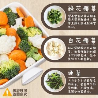 【極鮮配】體好壯壯綠系列冷凍熟蔬菜 綠花椰菜(1000G±10%)