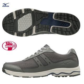 【MIZUNO 美津濃】LD AROUND 2 超寬楦男款健走鞋 B1GC202703(健走鞋)