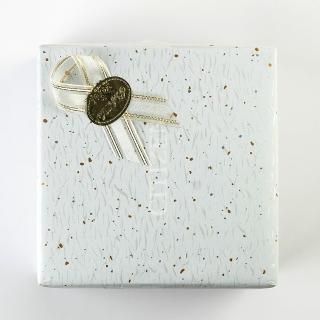 禮物包裝(白色黃點款)