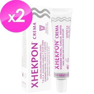 【西班牙Xhekpon】暢銷明星組(膠原蛋白頸紋霜40ml*2)