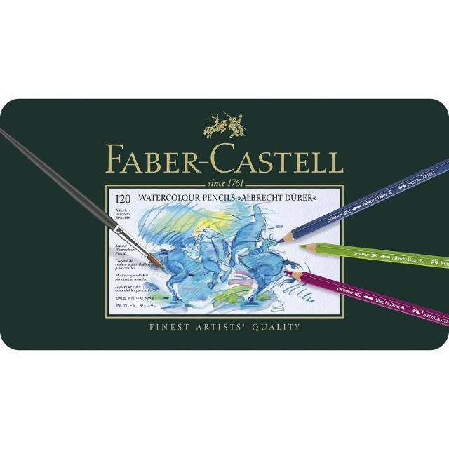 【Faber-Castell】117511 藝術級120色水性色鉛筆(色鉛筆)
