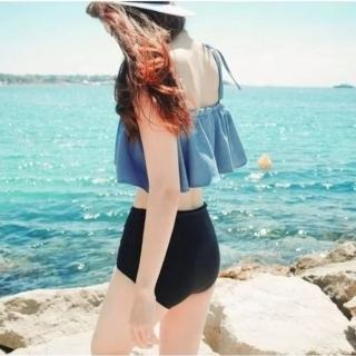 【SeasonsBikini】泳衣泳裝荷葉邊兩種穿法 -30(泳衣泳裝荷葉邊兩種穿法)