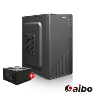 【aibo小惡魔機殼+雷鬼500W電源超值組】小惡魔 USB3.0 S系列迷你機殼+500W電源