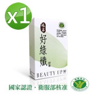 【娘家】民視嚴選 好綠孅膠囊1盒(國家健康食品認證 不易形成體脂肪)