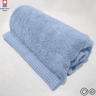 【今治織上】今治認證 Liffy 無捻系 浴巾(天空藍)