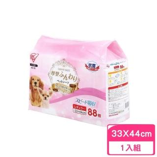 【IRIS】AS犬用厚型抗菌尿布〈33*44cm〉88片(AS-88)