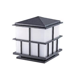【大巨光】台製現代風1燈門柱燈(LW-09-583A)
