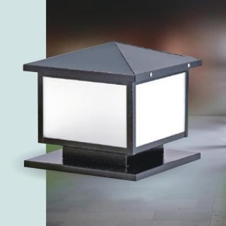 【大巨光】台製現代風1燈防水門柱燈_E27/LED(LW-09-5932)
