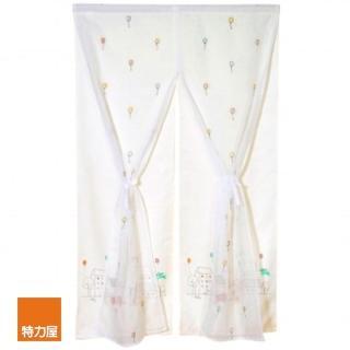 【特力屋】童話世界抗菌雙層門簾 90x150cm