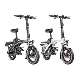 【iFREEGO】F5電動自行車100公里版 電動續航力100公里 電助力續航力高達130公里(電動車 自行車 折疊車)