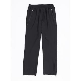 【KAPPA】義大利男速乾單層風褲 前半網布內裡(黑304P6H0005)